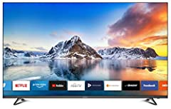 DYON Smart 55 XT 138,7 cm (55 tum) TV (4K Ultra-HD Smart TV, HD Triple Tuner (DVB-C/-S2/-T2), Prime Video, Netflix & HbbTV) [Årsmodell 2020]
