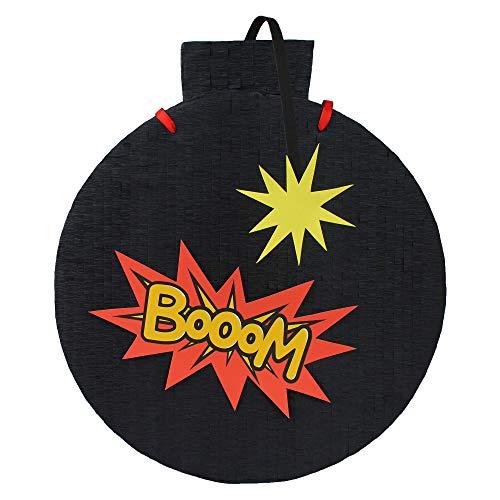 MagicPinatas Pignatta Pallone - Pronto da riempire con riempitivi Come Dolci, Giocattoli, confezionato in cellophane - Pinata per Ragazzi, Adulti, Compleanno, Bambini 32cm