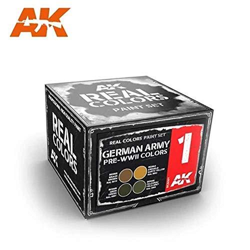 (AKRCS001) - AK Real Colours - German Army Pre-WWII Colours (4)