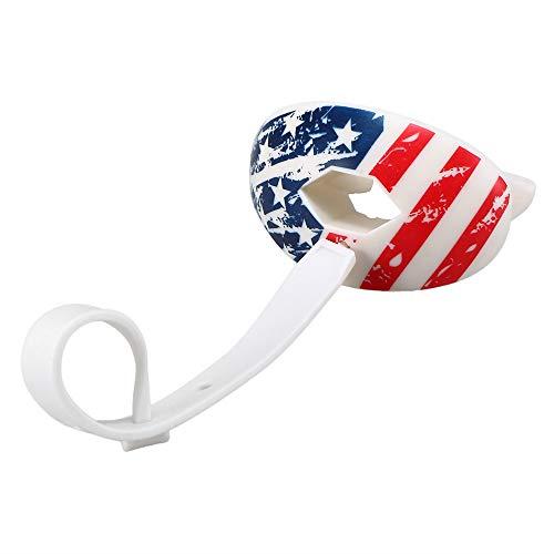 Lixada Rugby Mundschutz Food Grade Zahnschutz American Football Mundschutz Lip Protection