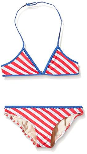 Pepe Jeans Mädchen Water JR Bikini Zweiteiler, Orange (Coral), Jahre (Herstellergröße: 10 ans)
