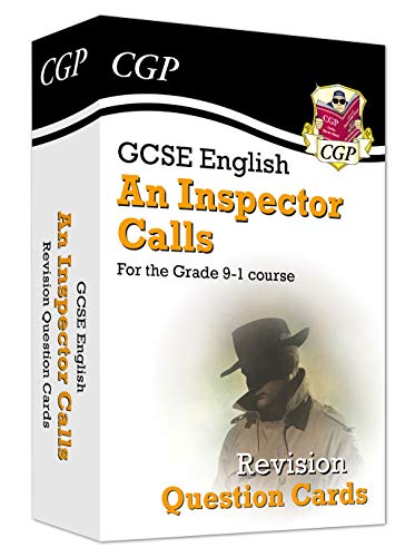 New Grade 9-1 GCSE English - An Inspector Calls Revision Question Cards (CGP GCSE English 9-1 Revision)