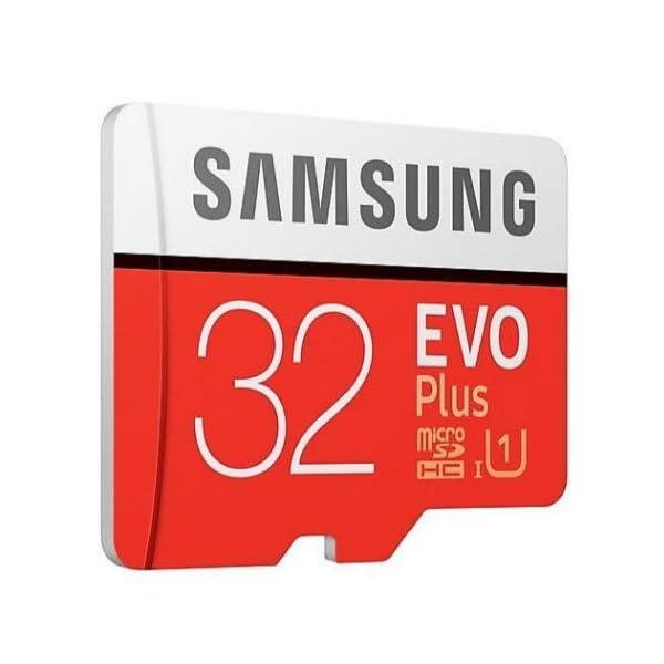 Samsung EVO Plus 32 GB microSDHC UHS-I U1 95 MB/s Tarjeta de Memoria Full HD con Adaptador (MB-MC32GA)