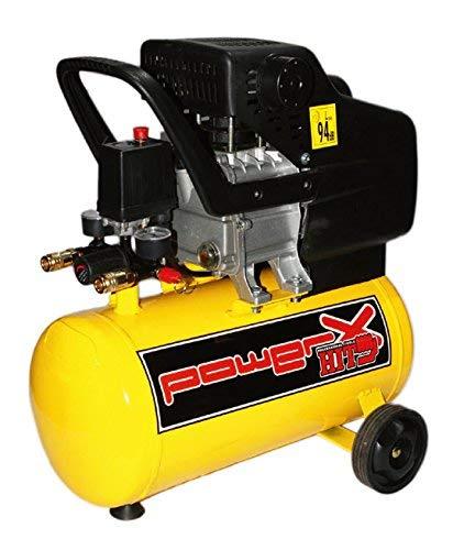 Compressore 25 lt carrellato compressore ad olio con...