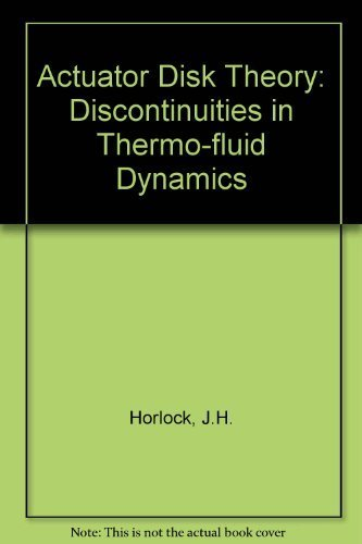 Actuator disk theory: Discontinuities in thermo fluid dynamics