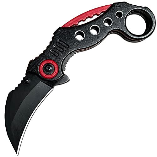 Folding Karambit Knife Karambit Pocket Knife Tactical Survival Knife Great for Camping Hiking...
