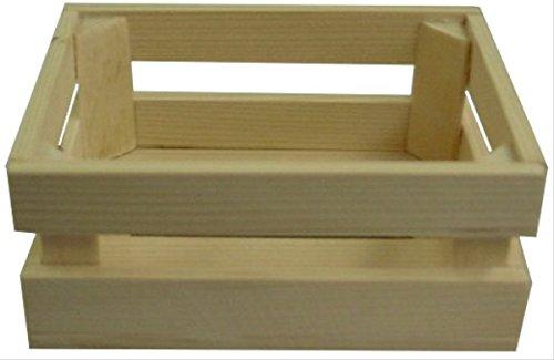 BELUGA speelgoed 10251 houten kist, 14 cm x 11 cm x 6 cm