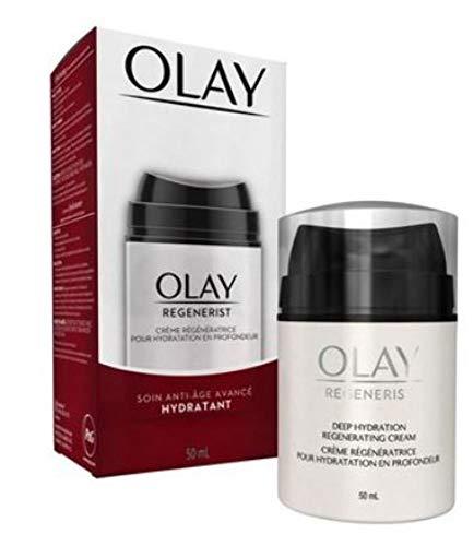 of olay anti aging moisturizers OLAY Regenerist Advanced Anti-Aging Deep Hydration Regenerating Cream 1.70 oz (Pack of 2)