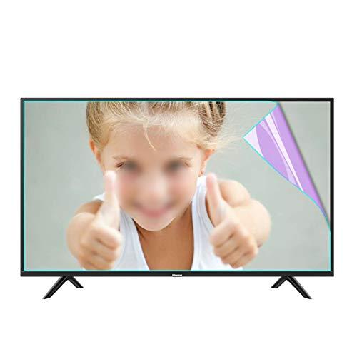 AWSAD Protector Pantalla TV 27-75 Pulgadas, Luz Azul Anti Filtro de Pantalla Ultra Claro Antideslumbrante para LCD, LED, OLED Y QLED 4K HDTV, Aliviar La Fatiga Ocular
