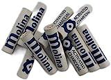 Filtro al carbone attivo 9 mm per pipa, Molina, confezione da 100