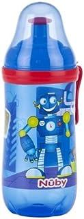 Kleinkinder sipeez Busy Trinkbecher Tasse FOM Schulterst/ütze f/ür Nuby 360/ml Alter 18/m blau Roboter BPA-frei