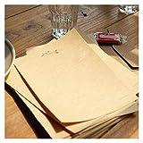 QWXX Papelería 10 + 2 unids/Paquete Nuevo Conjunto de Papel de VintageTower/Letra de Saludo Papel/Escritura de artículos de Oficina Exquisito y Hermoso