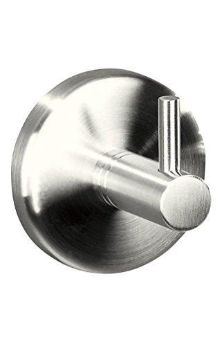 Golden Lutz® Robuster Edelstahl Handtuchhaken – Kleben oder Schrauben –