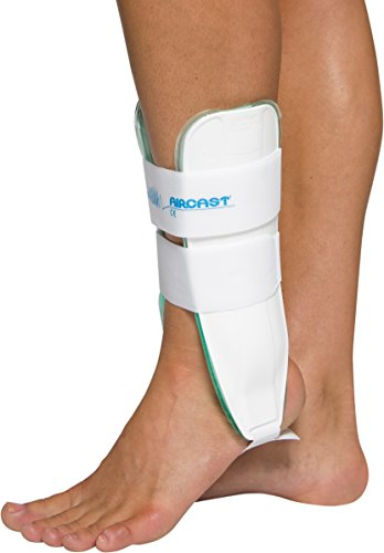Aircast Air-Stirrup Ankle Support Brace, pediatric, Left Foot, X-Small
