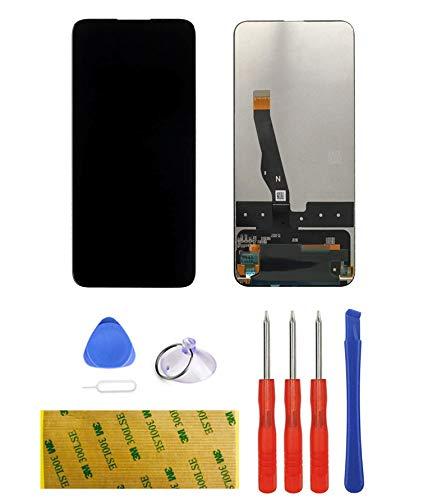 LTZGO Ersatz Display Kompatibel mit Huawei P Smart Z, 9X, Y9 Prime (2019) Schwarz Bildschirm Ohne Rahmen LCD Touchscreen mit Ersatzteile Werkzeuge Reparaturset