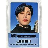 JIMIN ジミン - BTS 防弾少年団 グッズ / フォト メッセージカード 56枚 (ミニ ポストカード 56枚) セット - Photo Message Card 56pcs (Mini Post Card 56pcs) [TradePlace K-POP 韓国製]