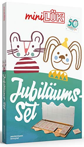 miniLÜK-Sets: miniLÜK: Das Jubiläums-Set: Kasten + Übungsheft/e / Kindergarten/Vorschule: Jubiläums-Set (goldenes Kontrollgerät + 3 Übungshefte) (miniLÜK-Sets: Kasten + Übungsheft/e)