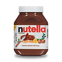 Nutella Chocolate Hazelnut Spread, Perfect Christmas Stocking Stuffer and Topping for Holiday Treats