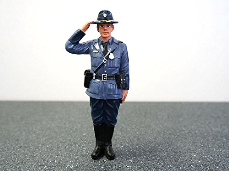 Diorama Figure- State Trooper- Brian 1 18