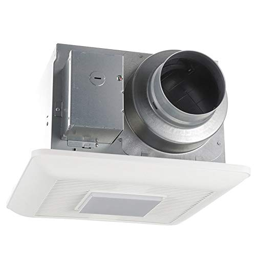 Panasonic FV-0511VQL1 WhisperCeiling DC Ventilation Fan with Light, 50-80-110 CFM