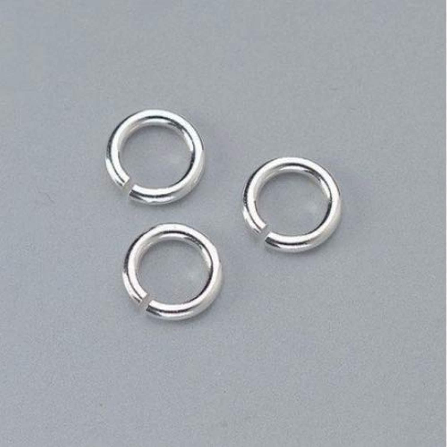 Efco Jewellery Jump Ring Round 5 mm 4 pcs. 925 Silver, 2 x 2 x 2 cm