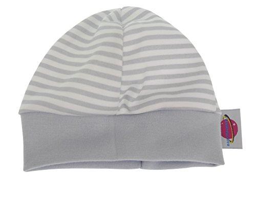 Babymajawelt® 14603 Beaniemütze Erstlingsmütze zum Schutz von Ohren und Köpfchen (streifen)