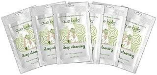 Que Bella174; Deep Cleansing Cream Mask - Aloe Vera - 6ct white