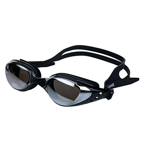 Peyan Swimming Goggles for Men Women Adults - Best Non Leaking Anti-Fog UV Protection Clear Vision,Electroplate Swim Goggle