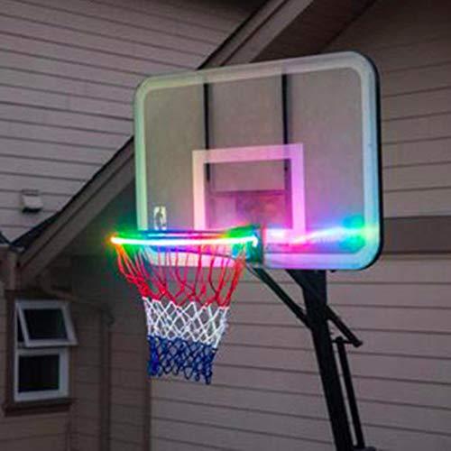 Save %33 Now! LED Basketball Hoop Lights,Basketball Rim LED Light Swish, Glow-in-The-Dark Rim Lights...
