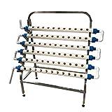XINXI-YW Conveniente La siembra el Sistema hidropónico de Sitio Kit de Crecimiento de 66 Agujeros con el sostenedor de Acero Inoxidable Decorativo (Size : 110V)