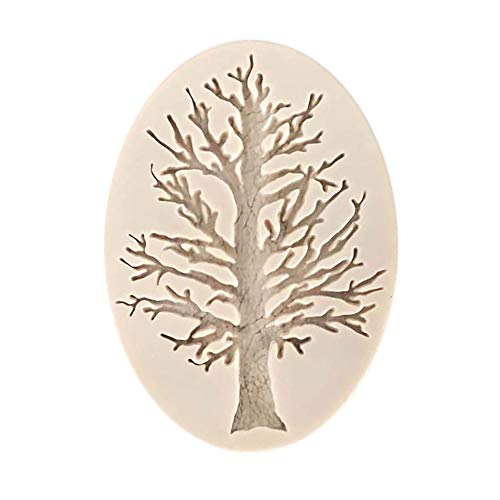 3D Tree Silicone Fondant Mold Cake Decorating Chocolate Sugarcraft Baking Mould,the best gift for Christmas