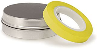 """Surgical Instrument Identification Marking Tape Roll 200""""L x 0.25""""W Yellow"""