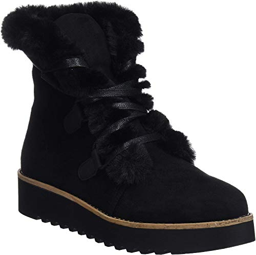 MTNG Collection 58556, Botas de Nieve para Mujer, Negro (Antil Negro C35442), 38 EU