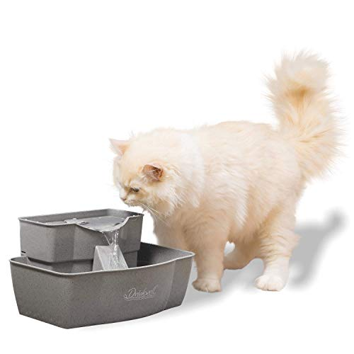PetSafe Drinkwell Multi-Tier Cat and Dog Water Fountain - Automatic Drinking...