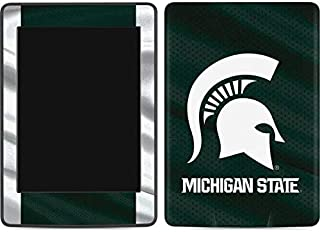 Skinit Michigan State University Away Grey Jersey Kindle Paperwhite E-Reader 6in Skin - Officially Licensed College Tablet Decal - Ultra Thin, Lightweight Vinyl Decal Protection