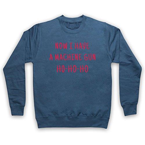 The Guns Of Brixton Die Hard Now I Have A Machine Gun Ho Ho Ho Sweat-Shirt des Adultes, Airforce Bleu, 2XL
