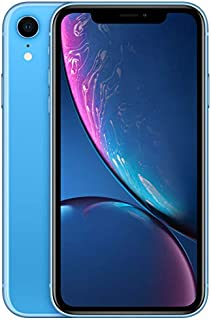 Apple Iphone XR With Face Time - 128 GB, 4G LTE, Blue, 3 GB Ram, Single Sim & E-Sim