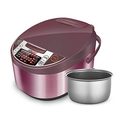 Cocina eléctrica Cocina de arroz (3 litros / 500 vatios / 220V) Inicio Aislamiento inteligente Multifunción Calidad interior Cuchara de olla vaporizador y tazas de medición Los electrodomésticos peque