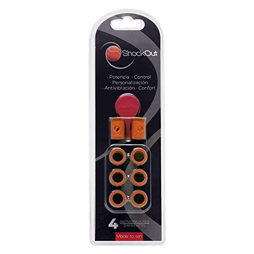ShockOut Padel Dampers - Sistema antivibración para palas de pádel, Arancione