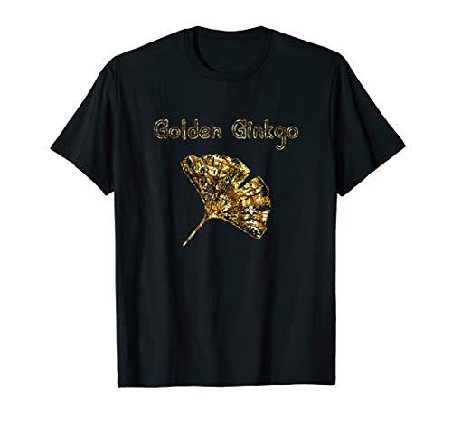 Ginkgoblatt - Gingko Mutter Geschenk Ginkgo Biloba Blatt T-Shirt