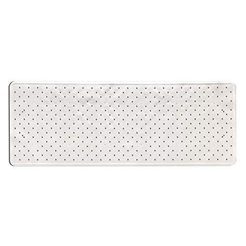 toyma 115-blanco Tapis de Bain Blanc 97 x 36