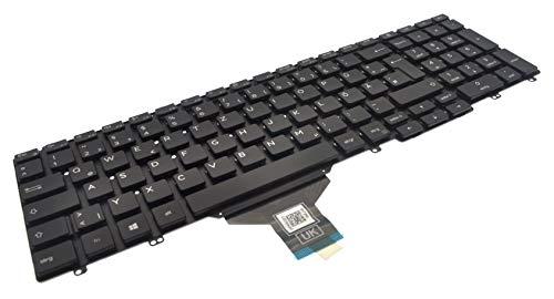 Dell Latitude 5500 Precision 3541 French AZERTY Non-Backlit Keyboard HNR0C
