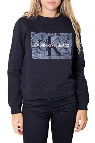 Calvin Klein Jeans Sweatshirt Damen X-Small Schwarz