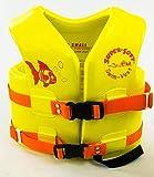 Texas Rec. USCG Approved Child's Vinyl-Coated Foam Swim Vest - X-Small - Yellow