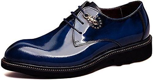 Herren Schuhe Aus Echtem Leder Plattform Business Dress Leder Schuhe Einzelne Schuhe