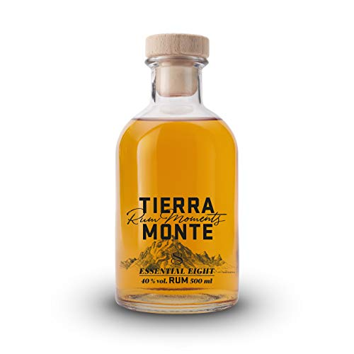 TierraMonte Essential Eight (1 x 0.5 l) - international ausgezeichneter Premium-Rum