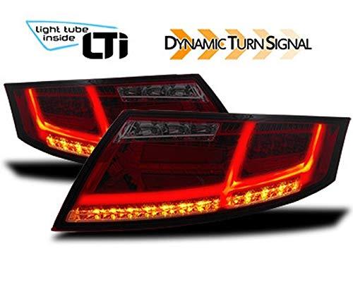 LTI achterlichten met dynamisch knipperlicht voor Audi TT -8J-