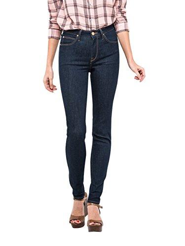 Lee Scarlett High Vaqueros Skinny, Azul (One Wash Ha45), W26/L33 para Mujer