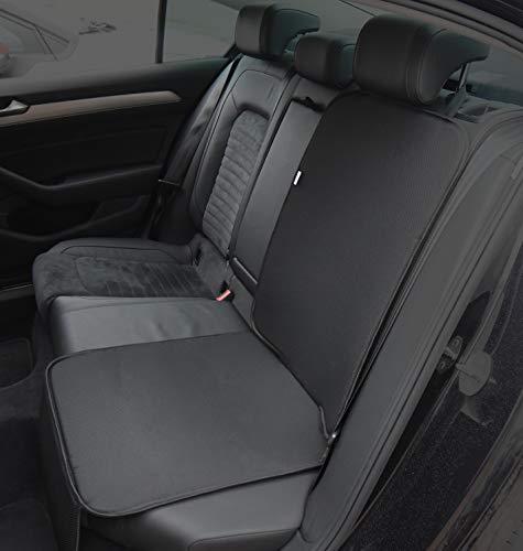 Kegel Blazusiak Unterlage für Kinderautositz Baby one - kompatibel mit Isofix Farbenauswahl Autositzmatte (Schwarz)