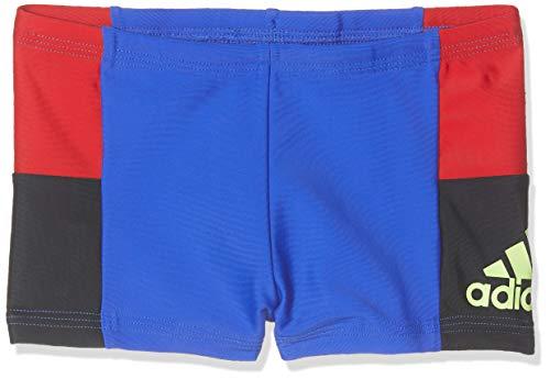 adidas Jungen Infinitex Colorblock Badeshorts, Blue, 116